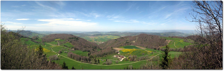 Herbstbiketour zum höchsten Aargauer