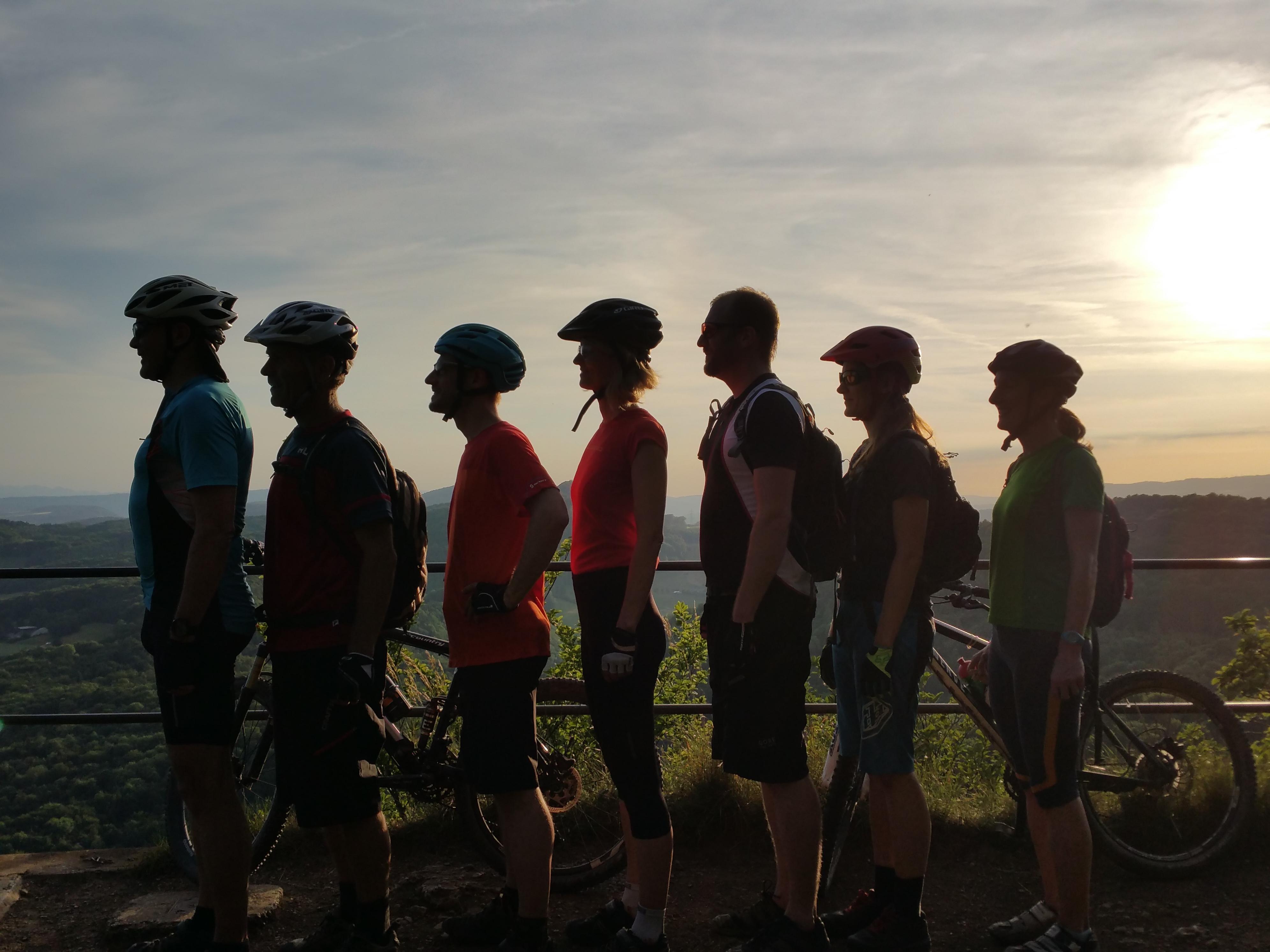 Biker auf dem Geissberg