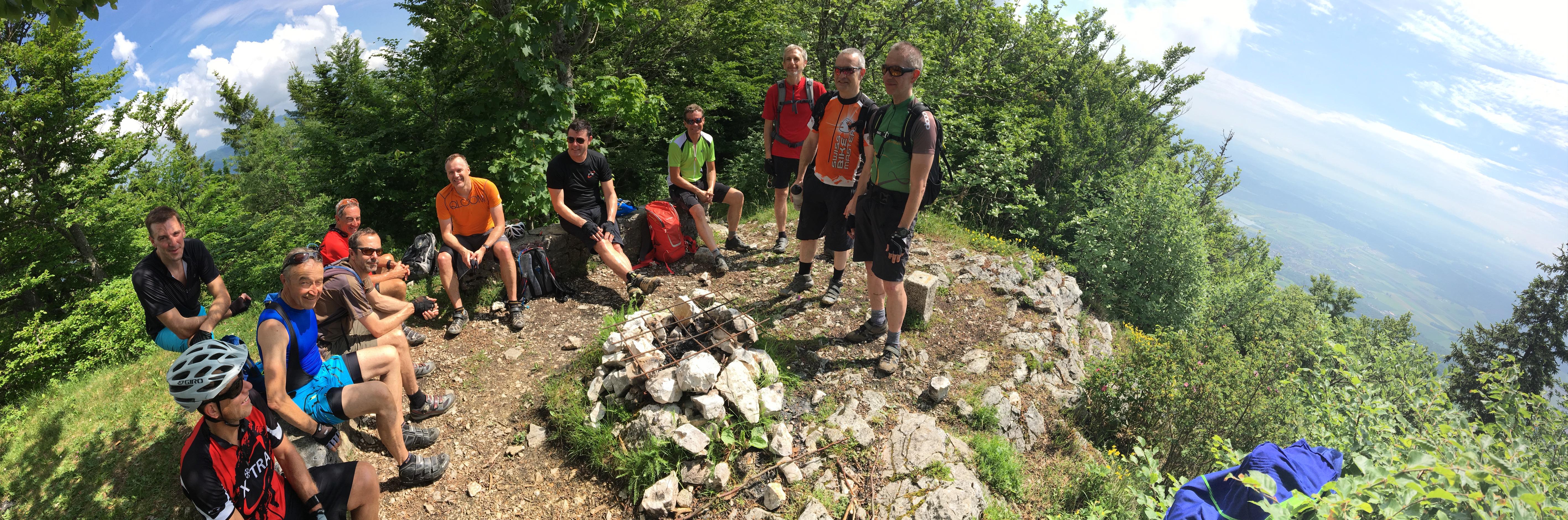 4-tägige Biketour durch den Jura