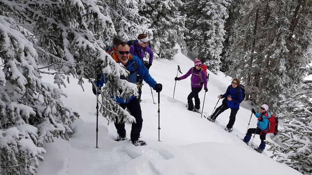 Schneeschuhtour aufs Rüfihorn (1849m) vom 18.2.18