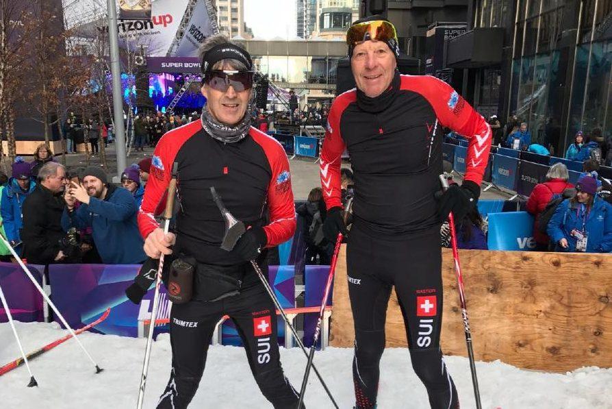Zwei X'tra Skilangläufer in Amerika