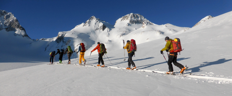 Skitour auf den Pizzo Rotondo