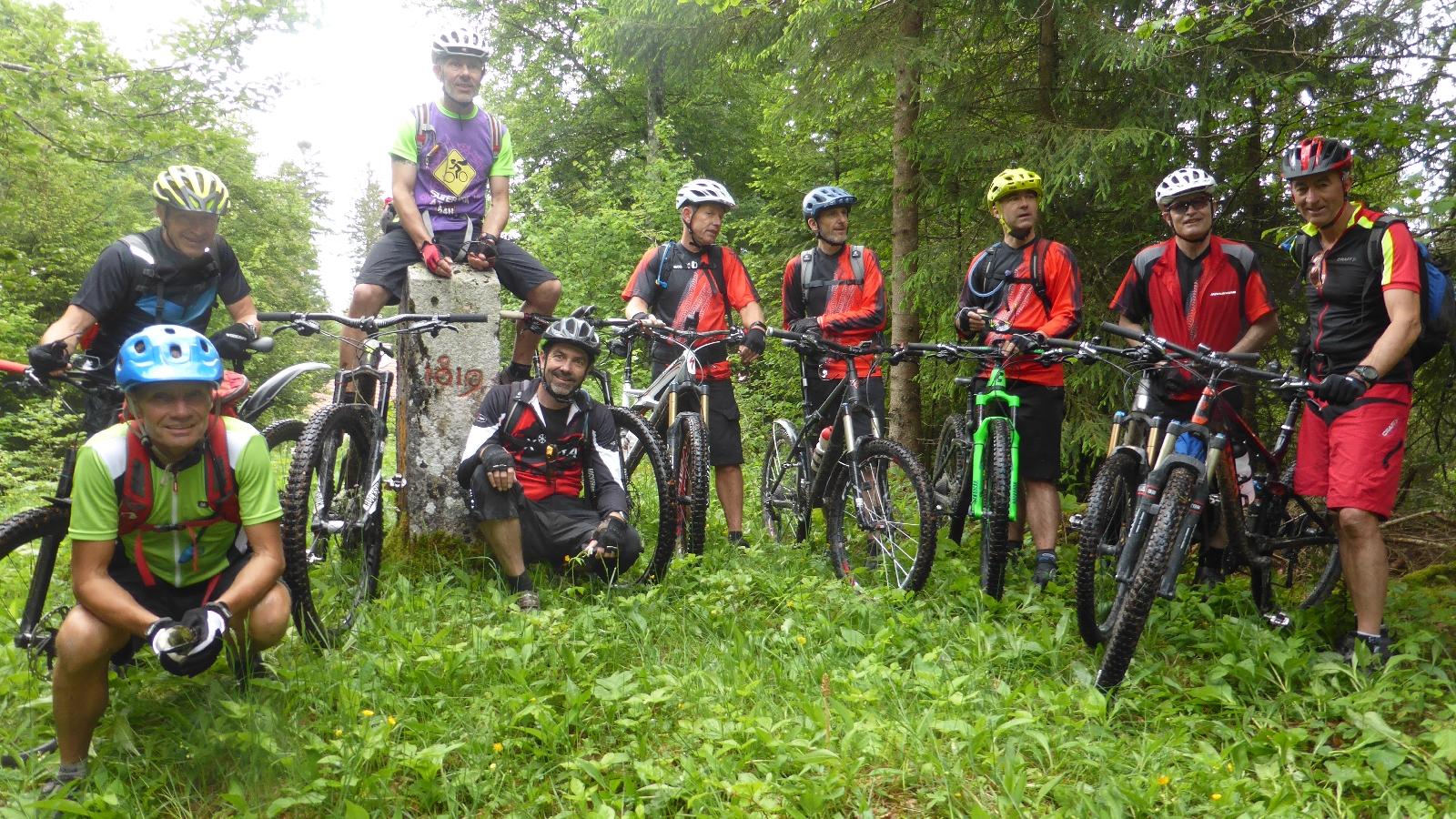 Xtra 3 Tages Biketour auf Grenzwegen