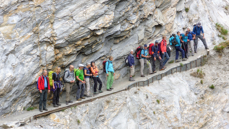 Suonen-Wanderung im Wallis