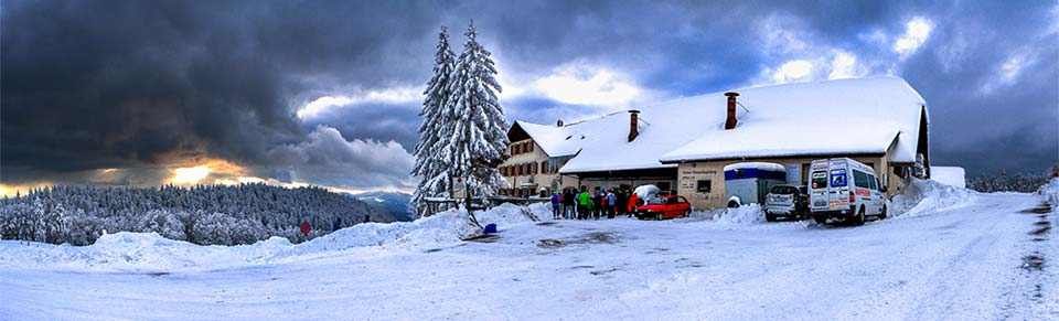 Schneeschuhwochenende im nahen Jura