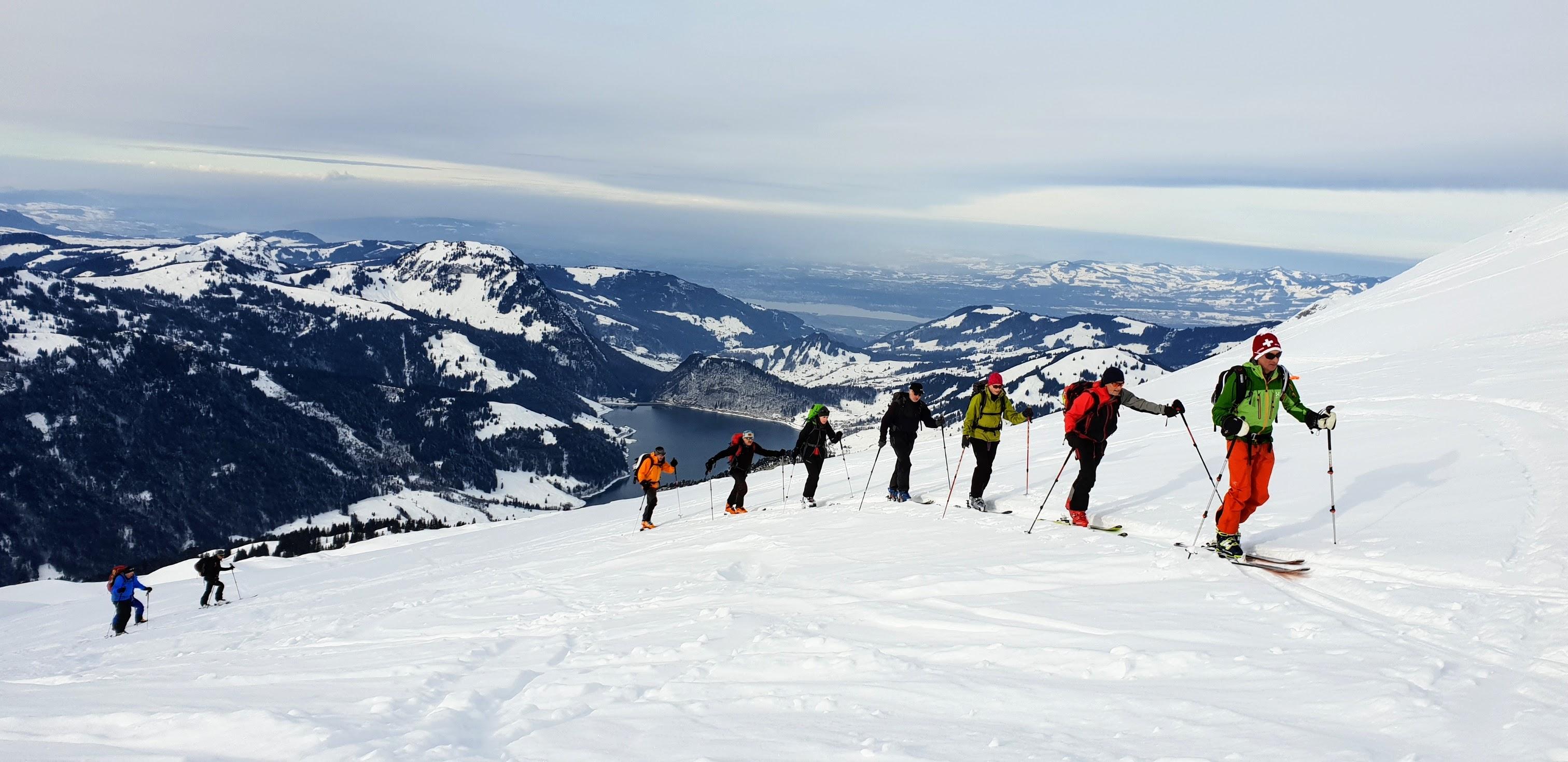 Skitour auf den Räderngrat
