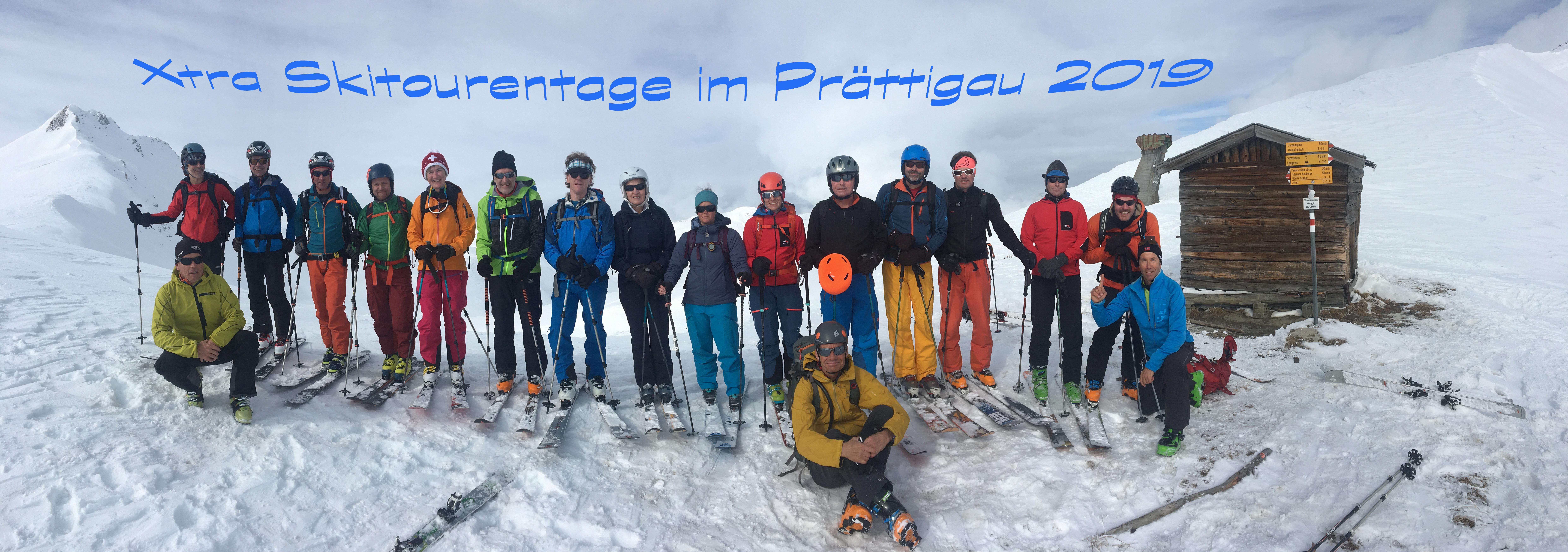 Skitourentage Prättigau