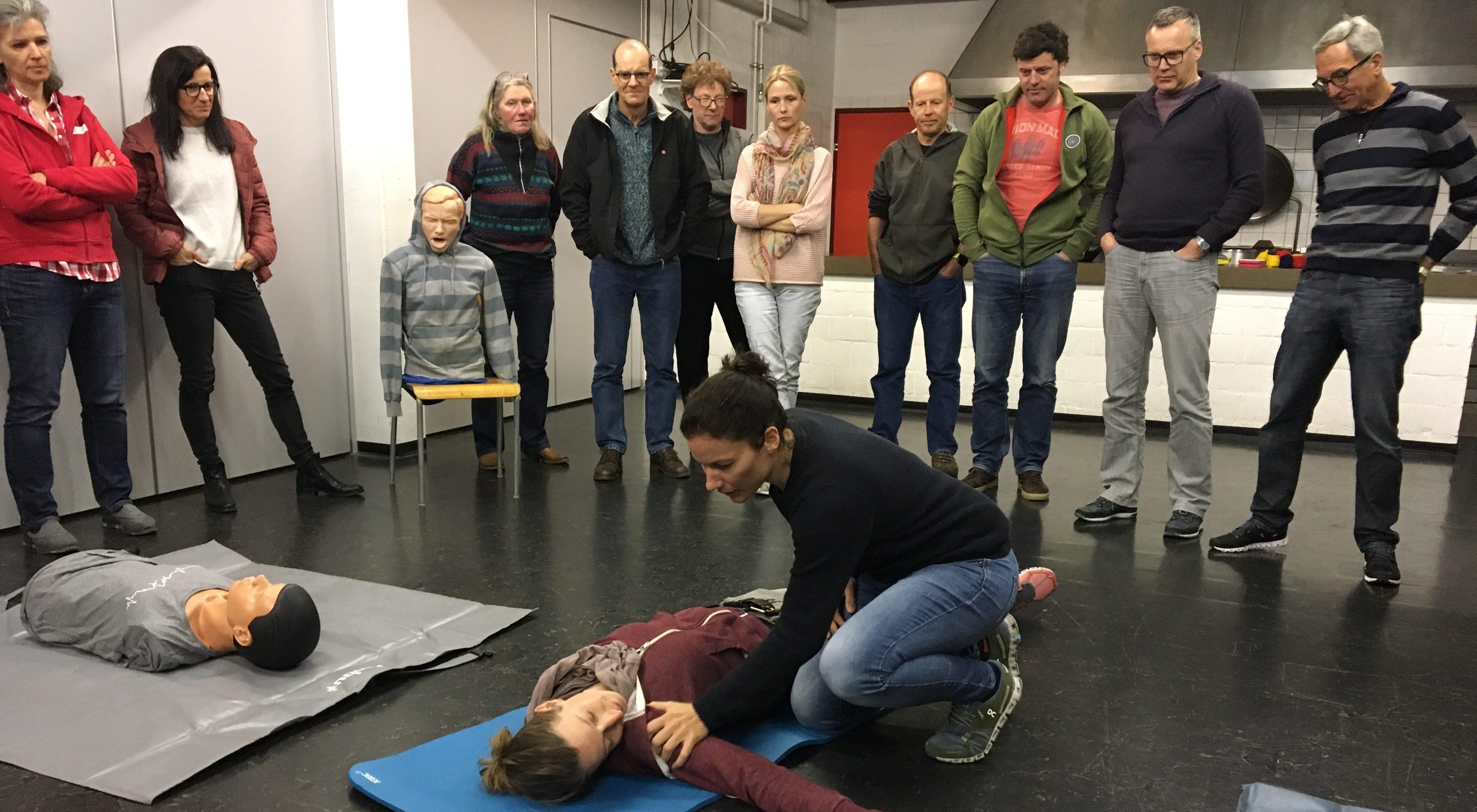 Erste Hilfe Kurs mit Stefanie Stücheli