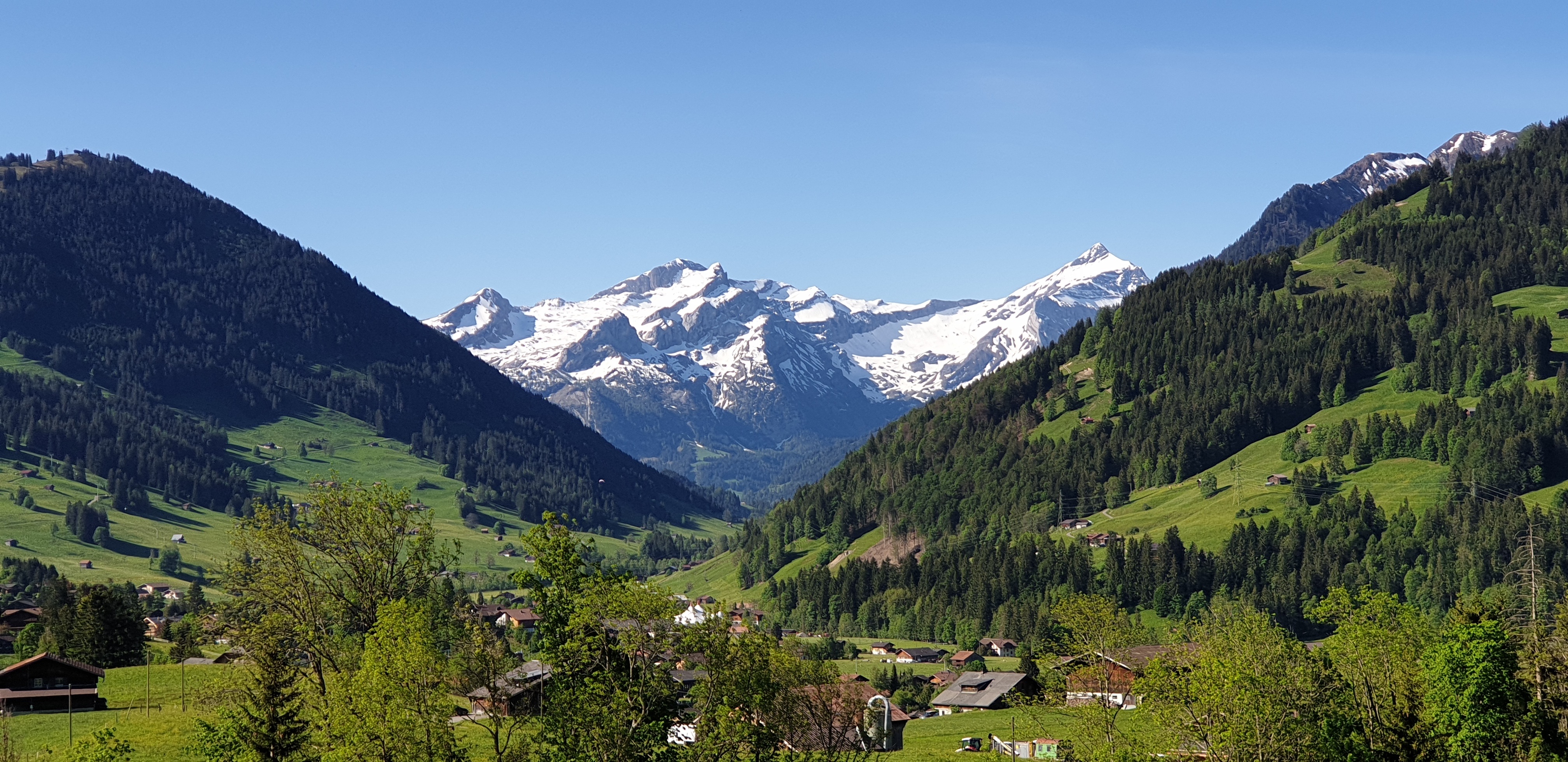 Per Velo quer durch die Schweiz