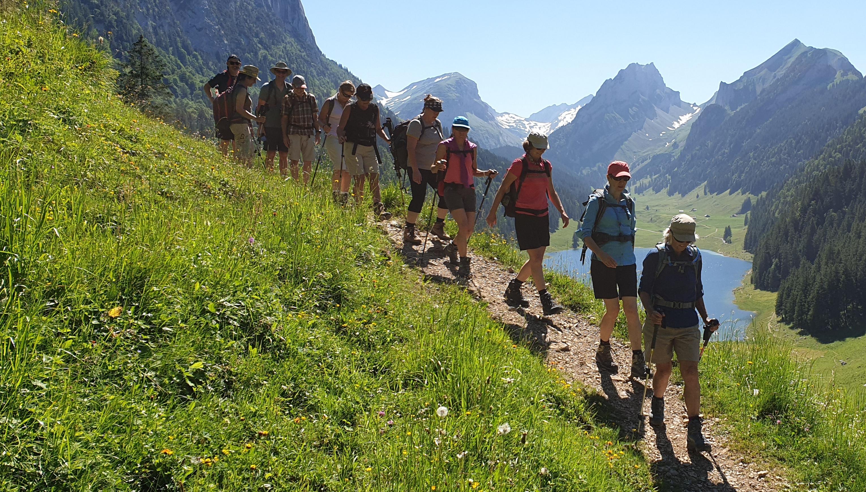 Wanderung Hoher Kasten-Bollenwees