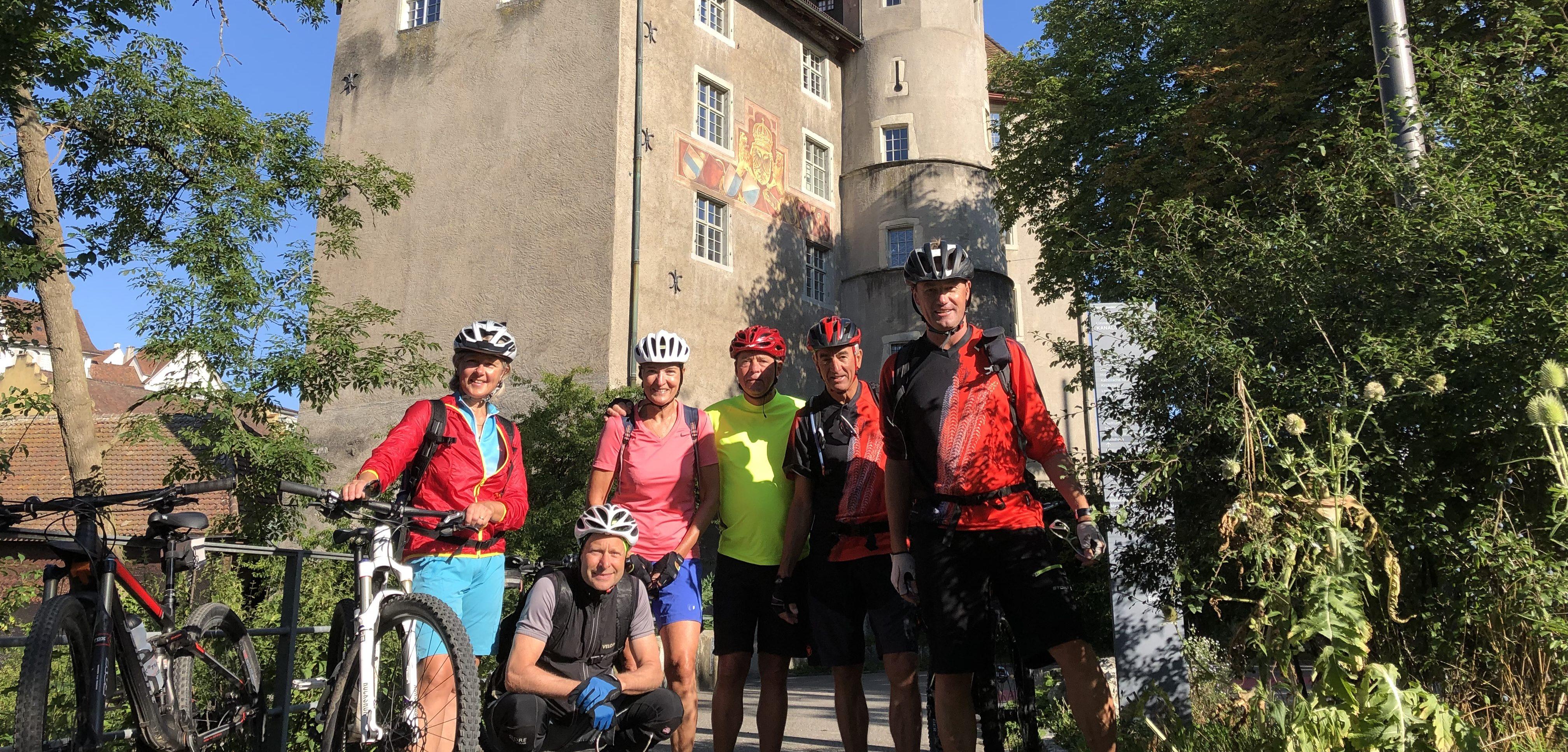 Biketour entlang der Aargauer Schlösser