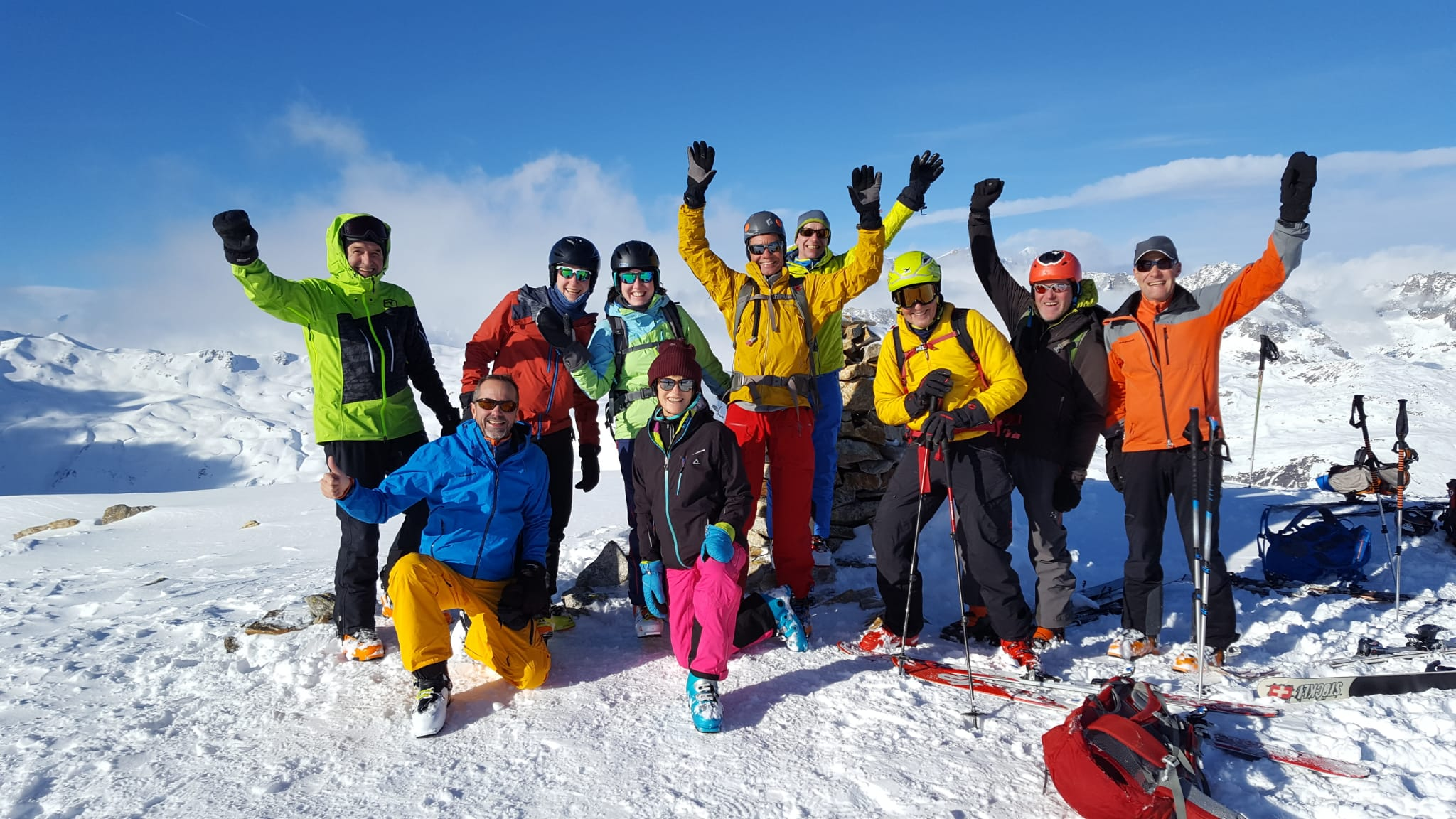 Tälligrat-Skitour