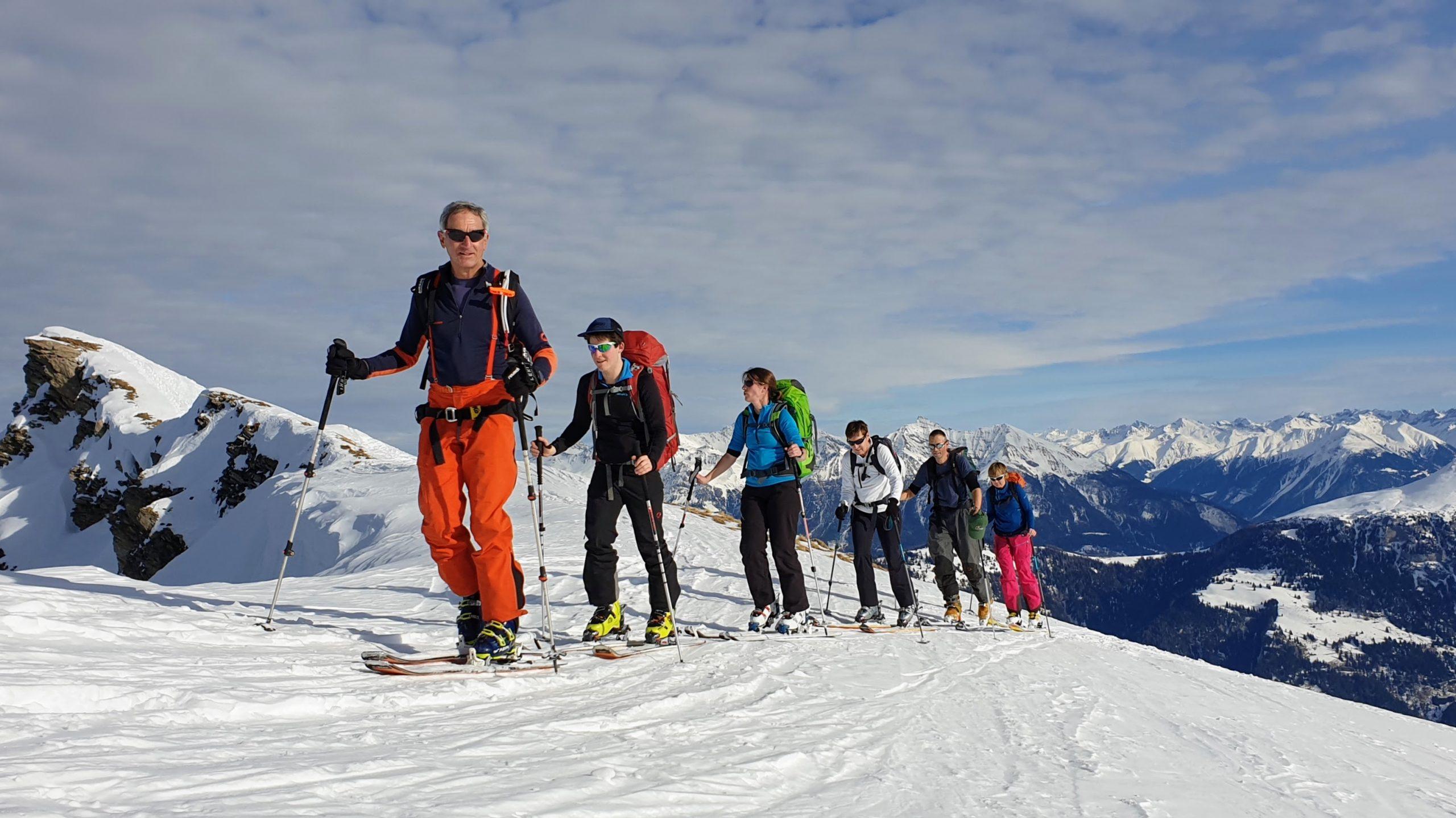 Skitour Parpeinahorn