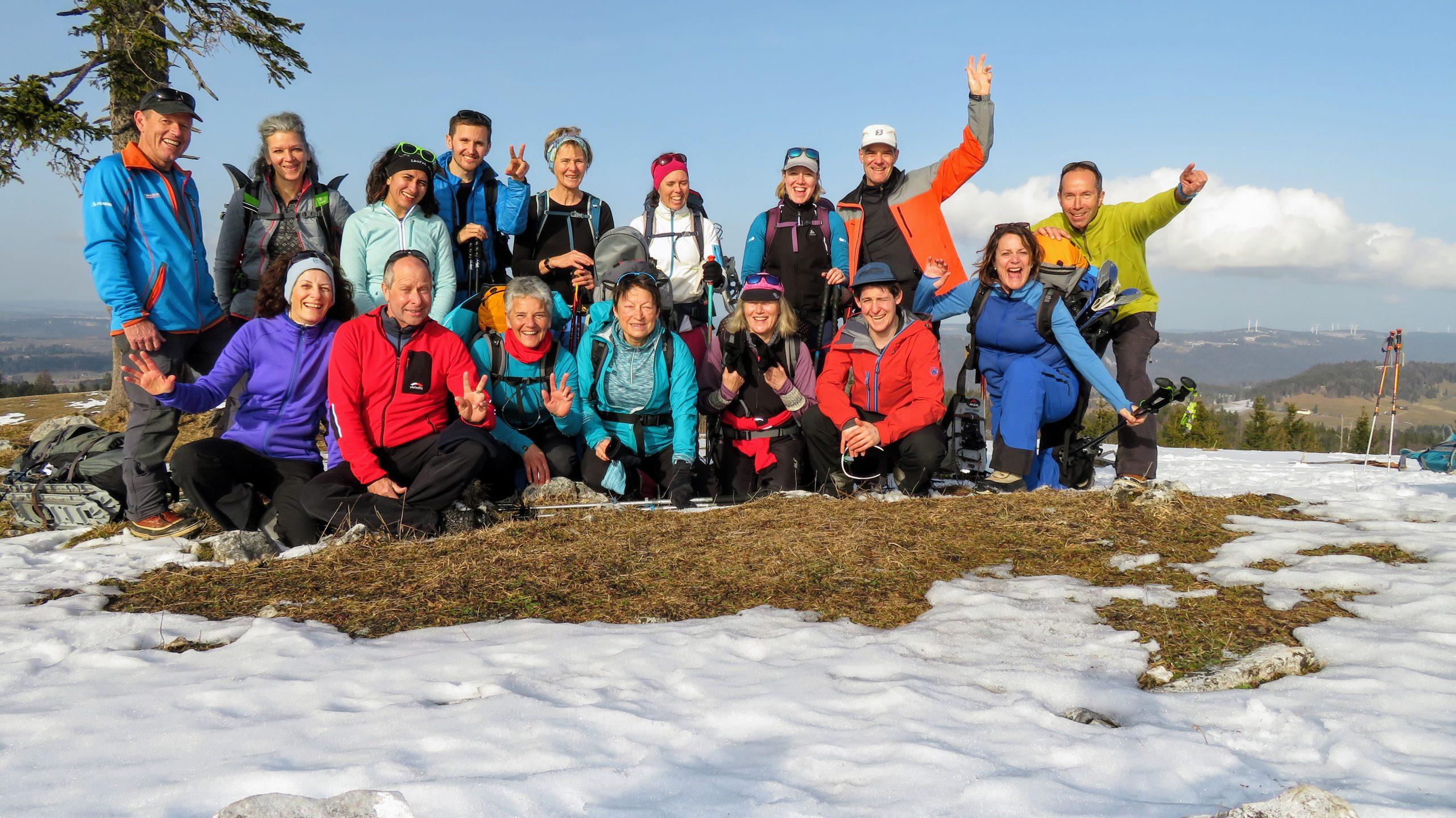 Winterwanderung im Jura