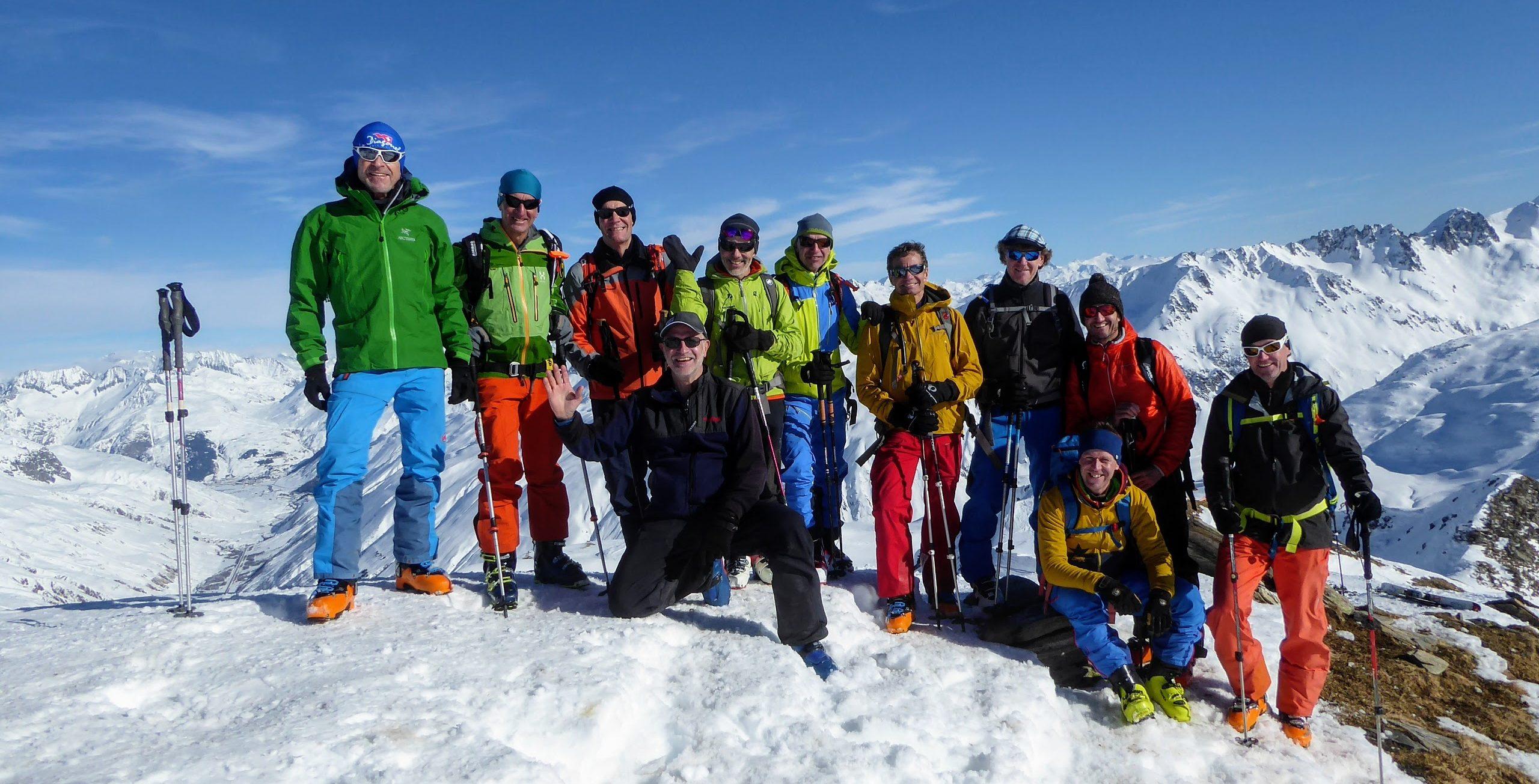 Skitourentag mit Jürg Haltmeier