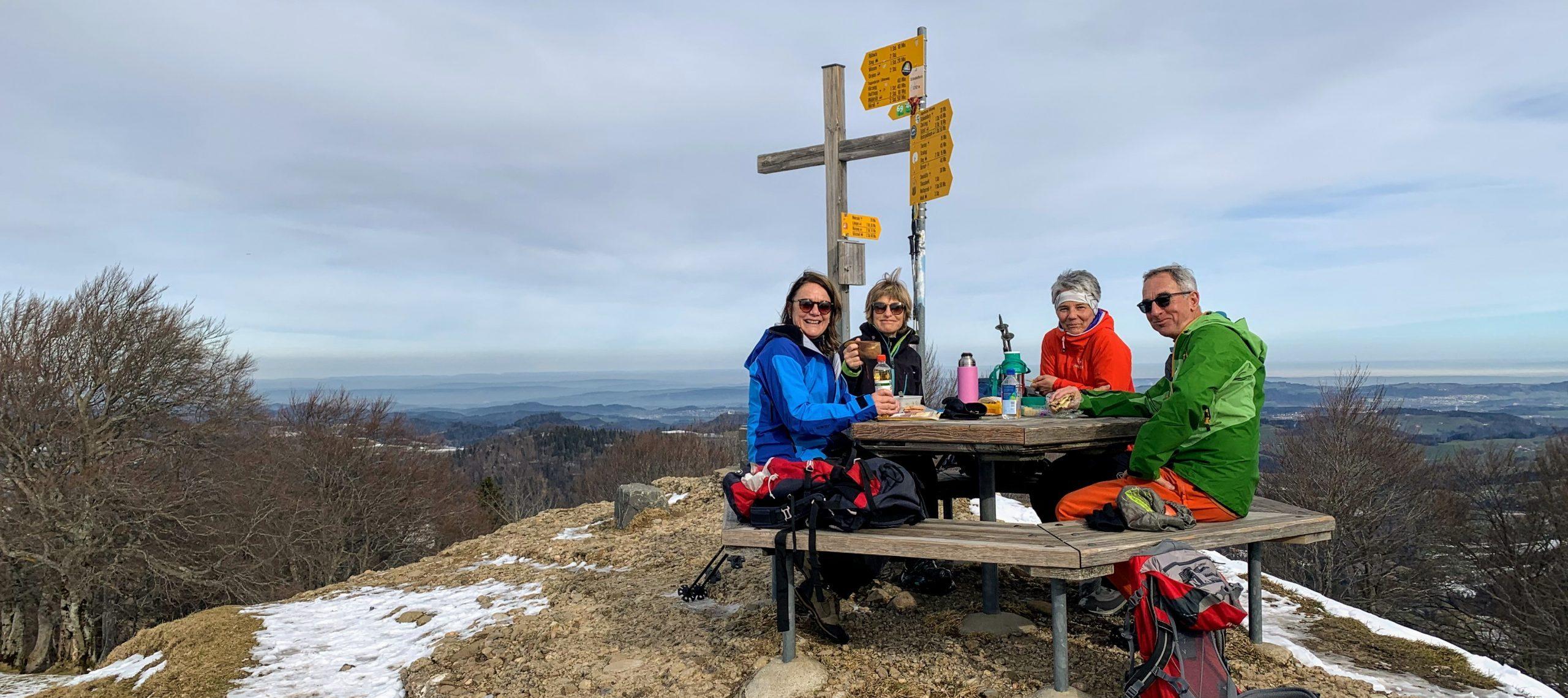Schneeschuhtour Schnebelhorn