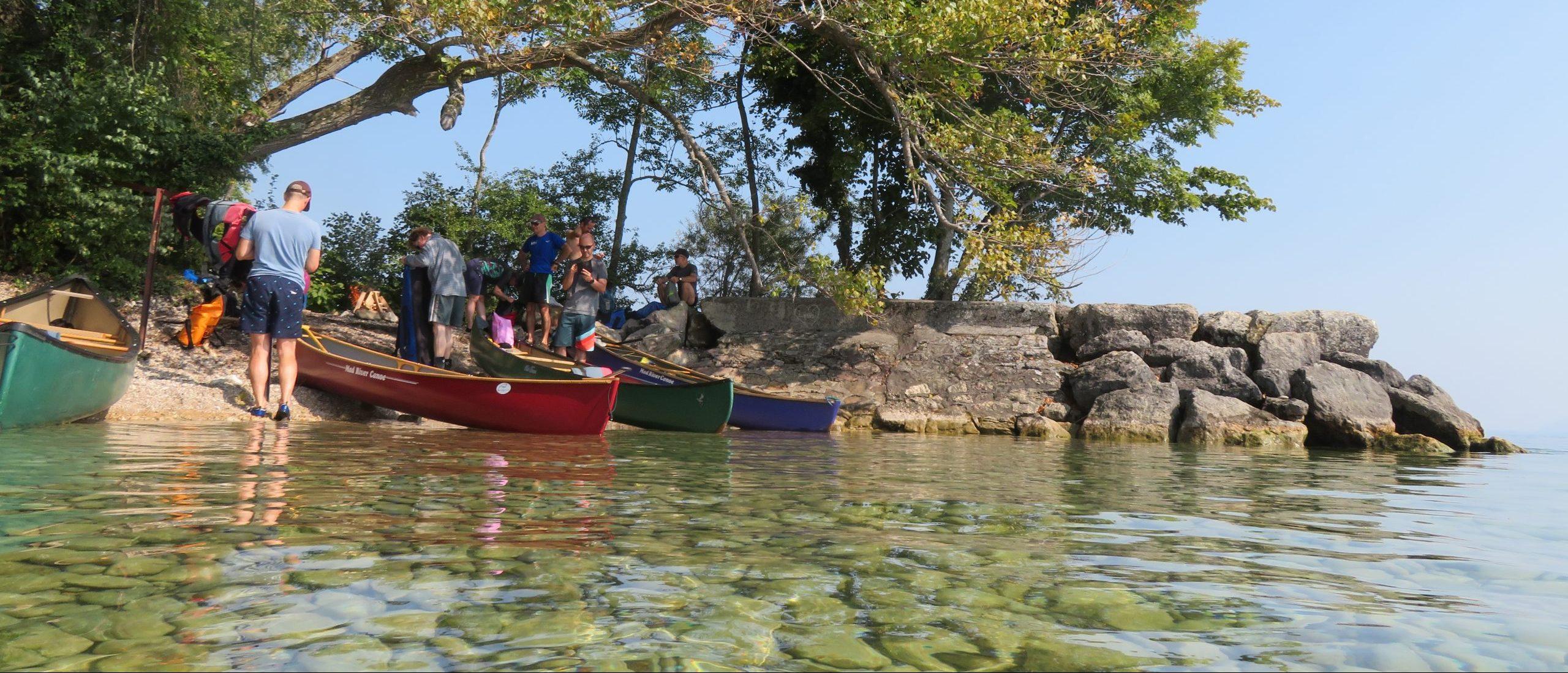 Kanu, Bike und Hike im Wilderland