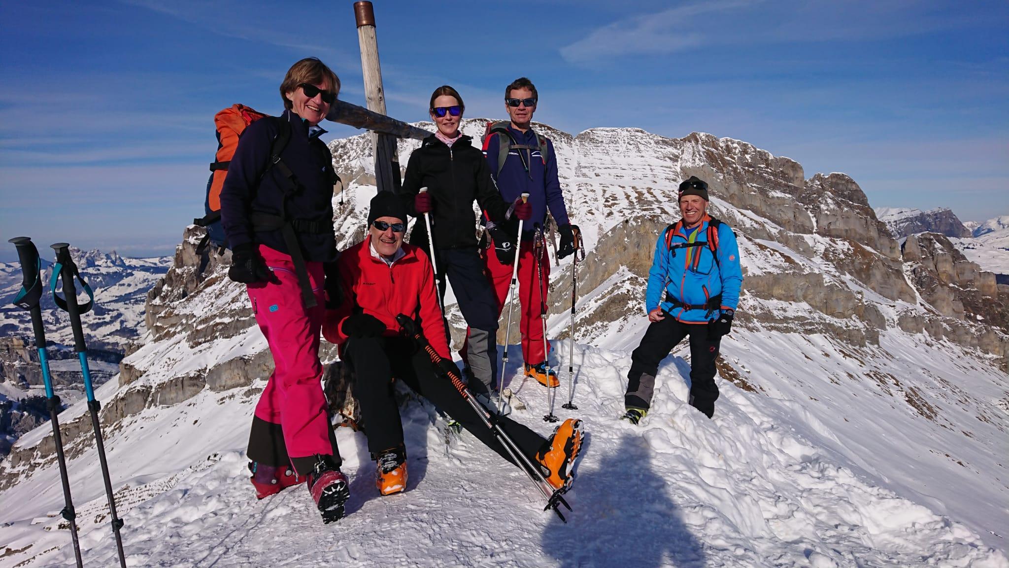 Skitouren Oberbergwochenende