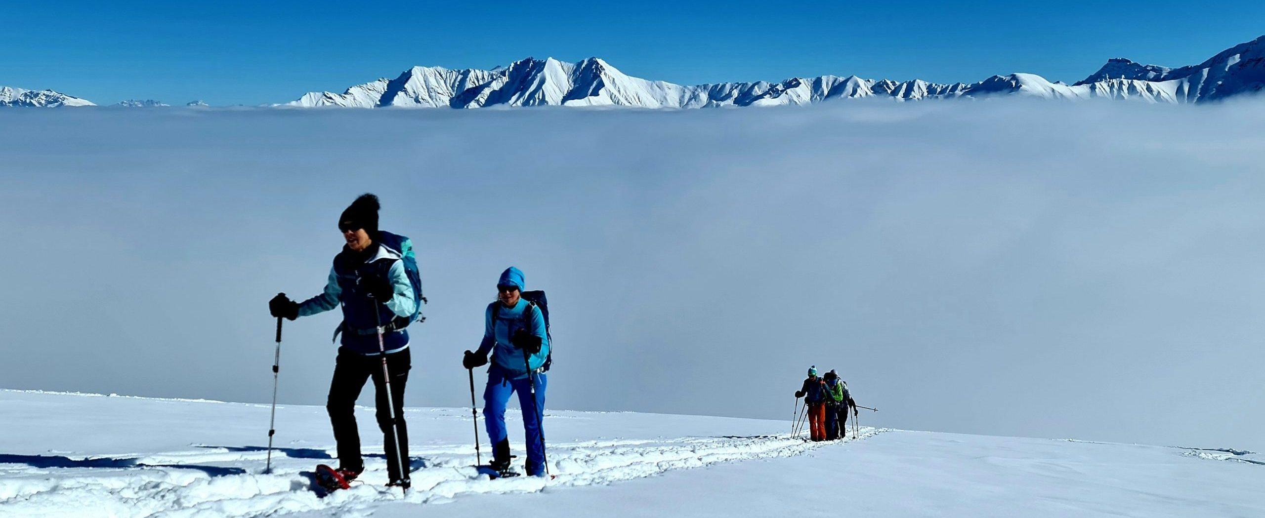 Schneeschuhtour Um Su