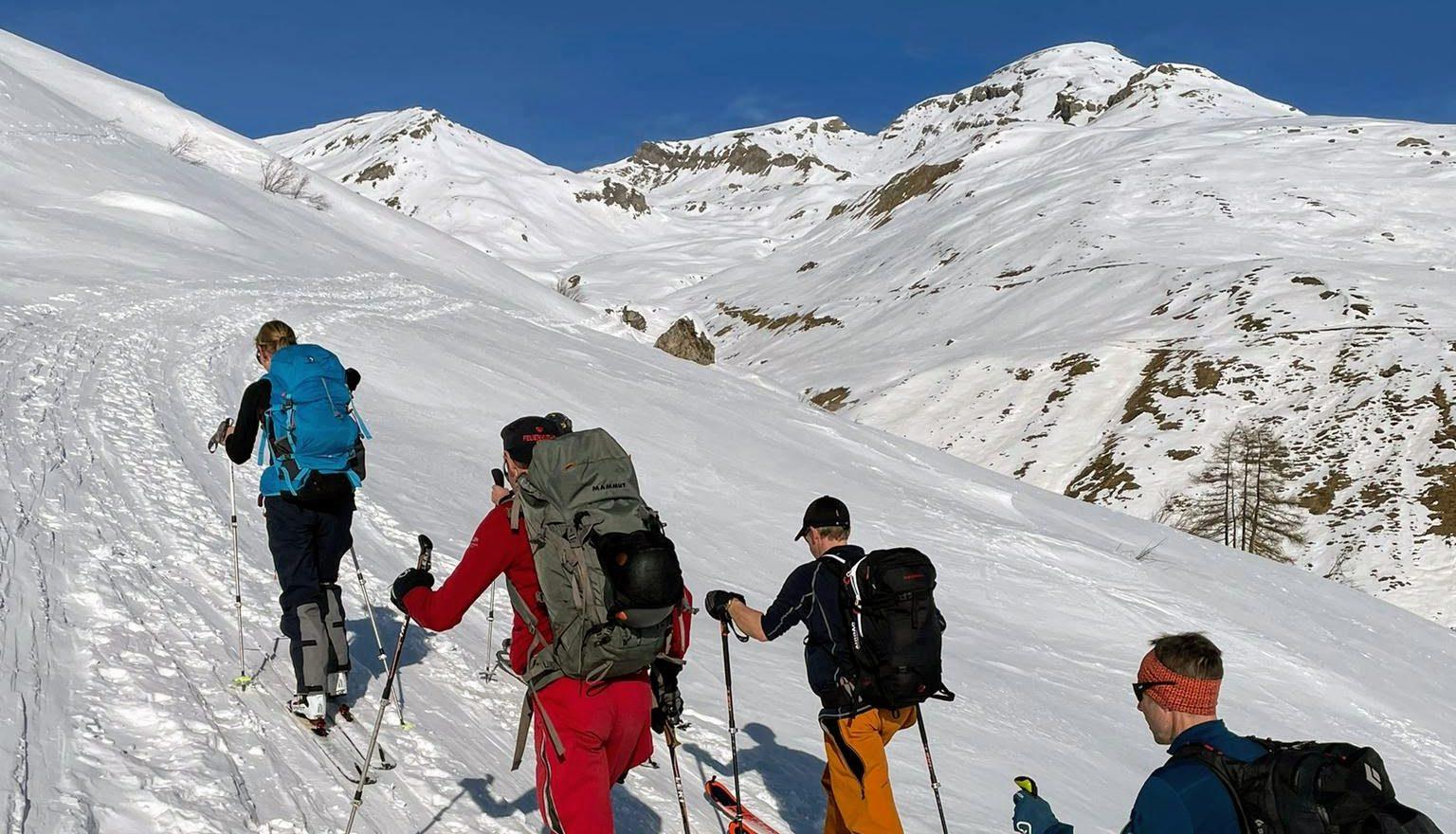 Skitourentage Wergenstein
