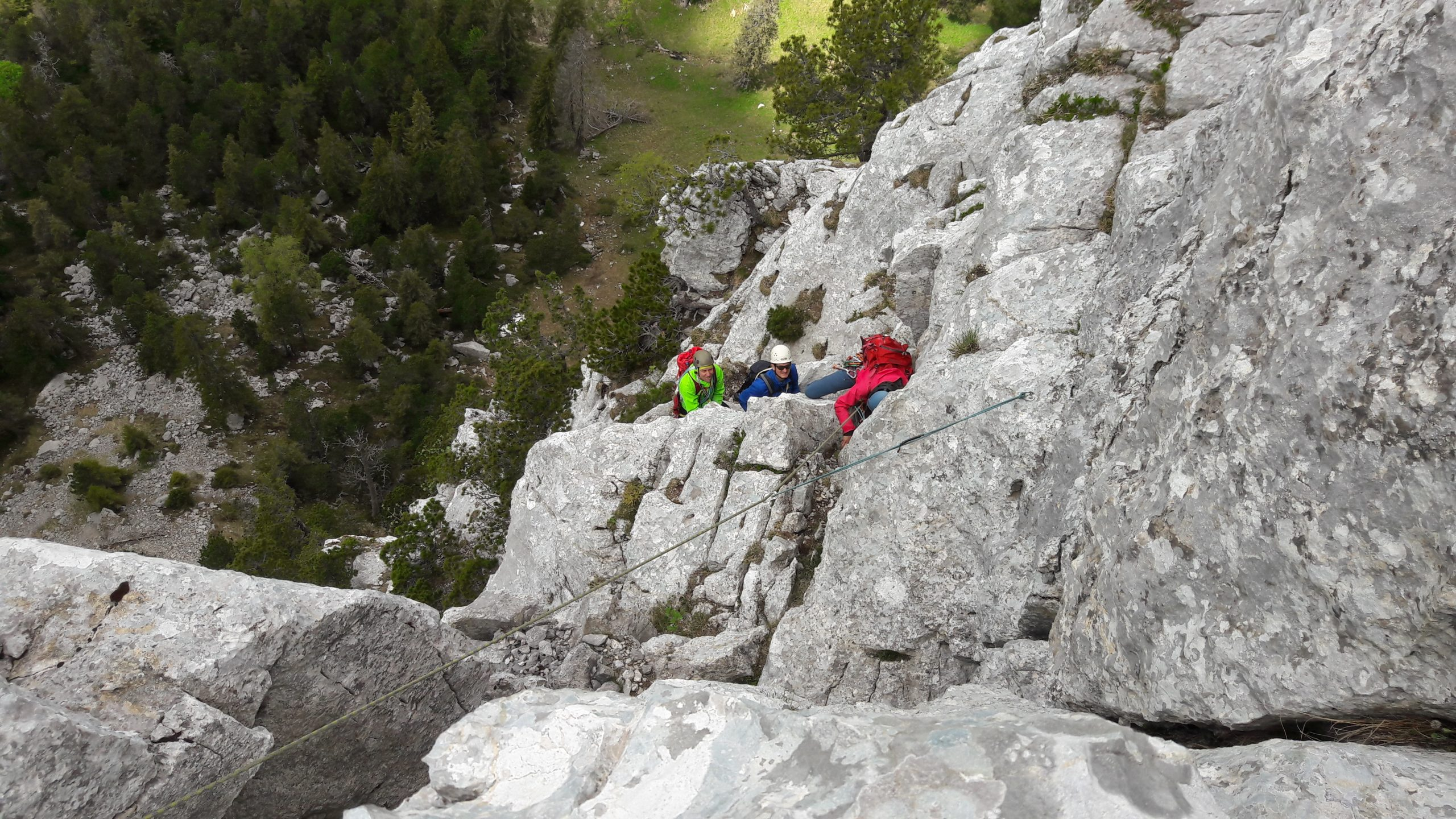Kletterwochenende in der Brünig Region